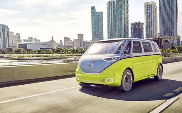 Volkswagen пустит хипстерский электромобиль в серию
