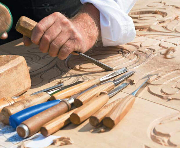 Резьба по дереву: как самостоятельно изготовить инструменты