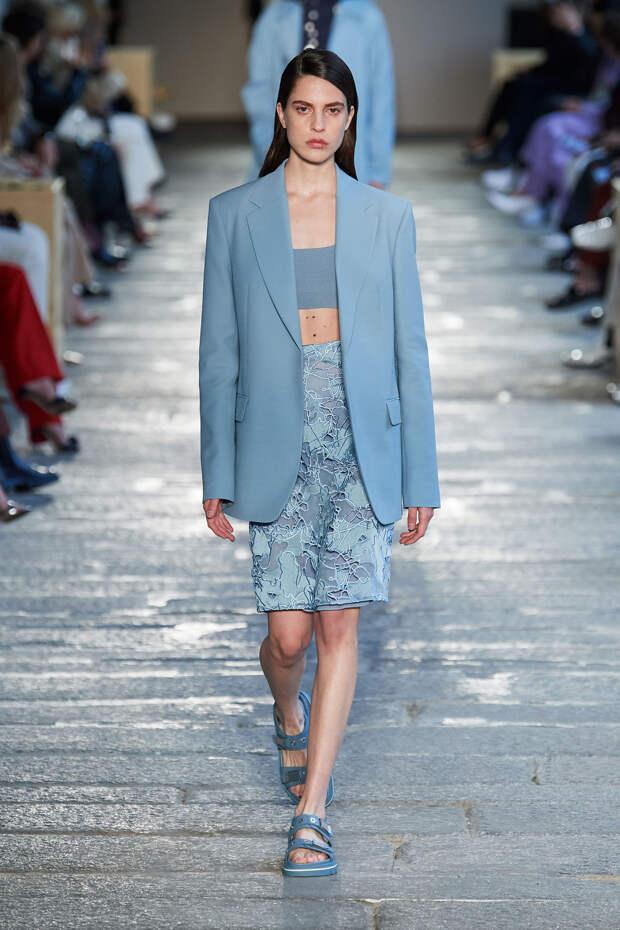 Неделя моды в Милане: Новая коллекция Boss Hugo Boss весна-лето 2021