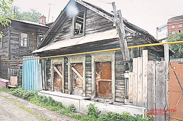 Тот самый дом на Чкаловской улице.