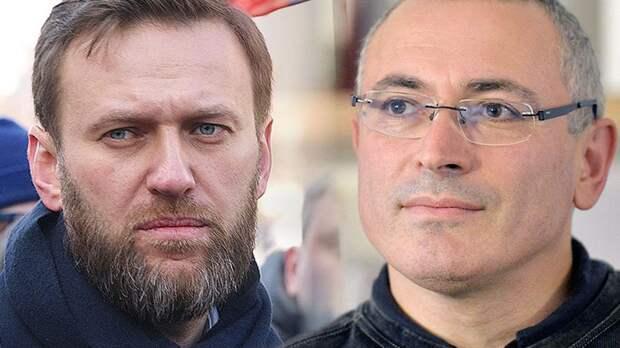 Ходорковский заскулил из западной конуры, что от него и Навального все бегут