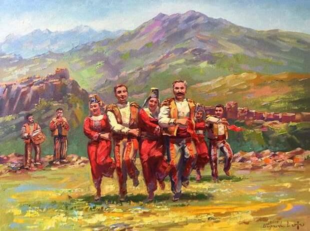 Сказ о том, как армяне Казань защищали