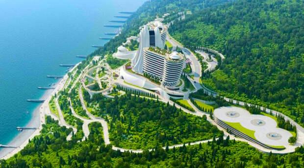 Здания на территории будущего казино в Крыму хотят выкупить и снести