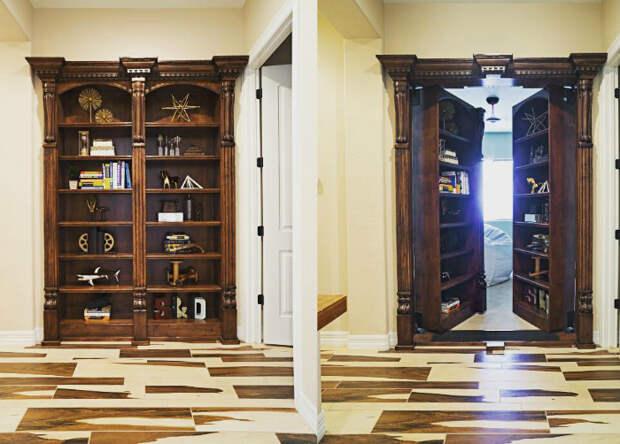 Тайная комната. | Фото: Web Curiosos.
