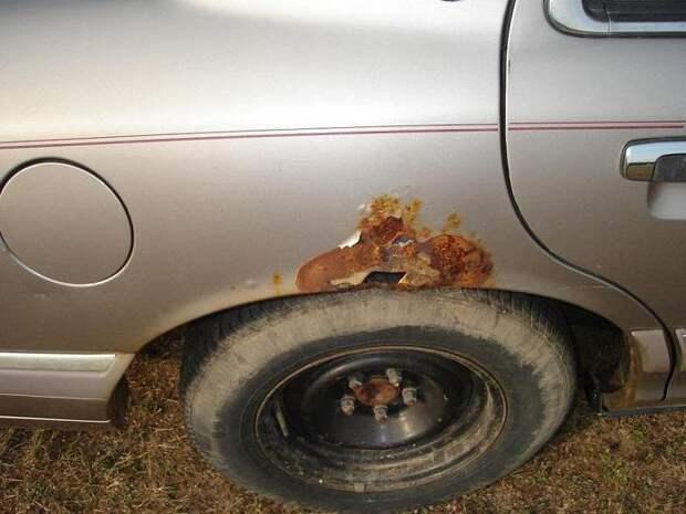 Автовладельцам рассказали, как предотвратить появление ржавчины на кузове автомобиля