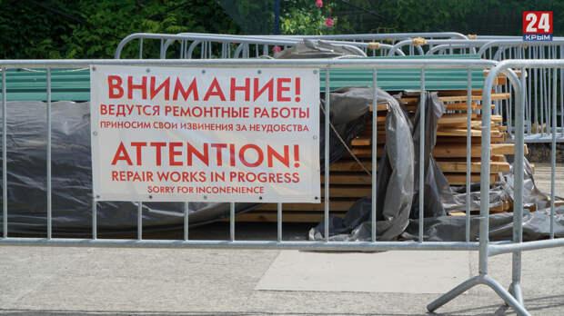 Реставрационные работы в Воронцовском дворце могут закончить раньше запланированного срока