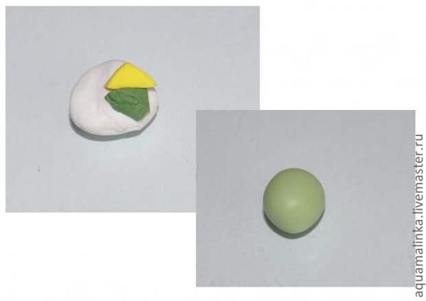Клевер из полимерной глины: мастер-класс