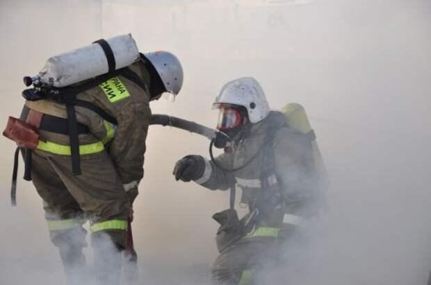 Под Рязанью произошёл пожар на пороховом заводе