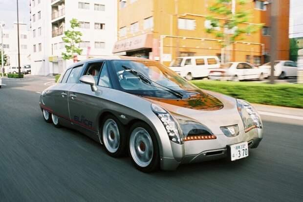 Tesla Car Eliica Japan's Electric Supercar авто, автомир, интересное, монстры, странные