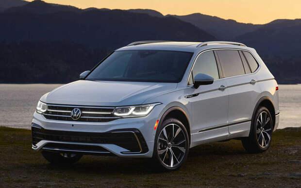 VW представил 7-местный Tiguan
