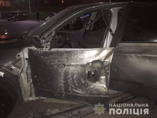 В Ивано-Франковске расследуют взрыв автомобиля. Появилось видео