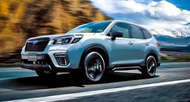 Subaru работает над новой версией модели Forester