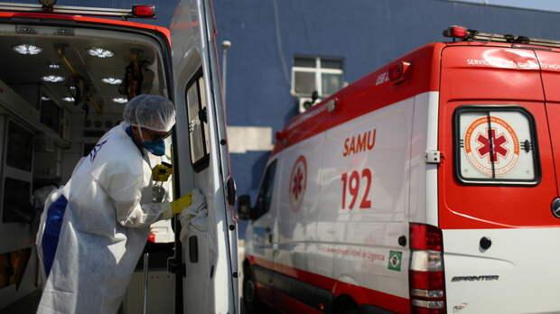 В Бразилии за сутки выявили более 85 тысяч случаев коронавируса
