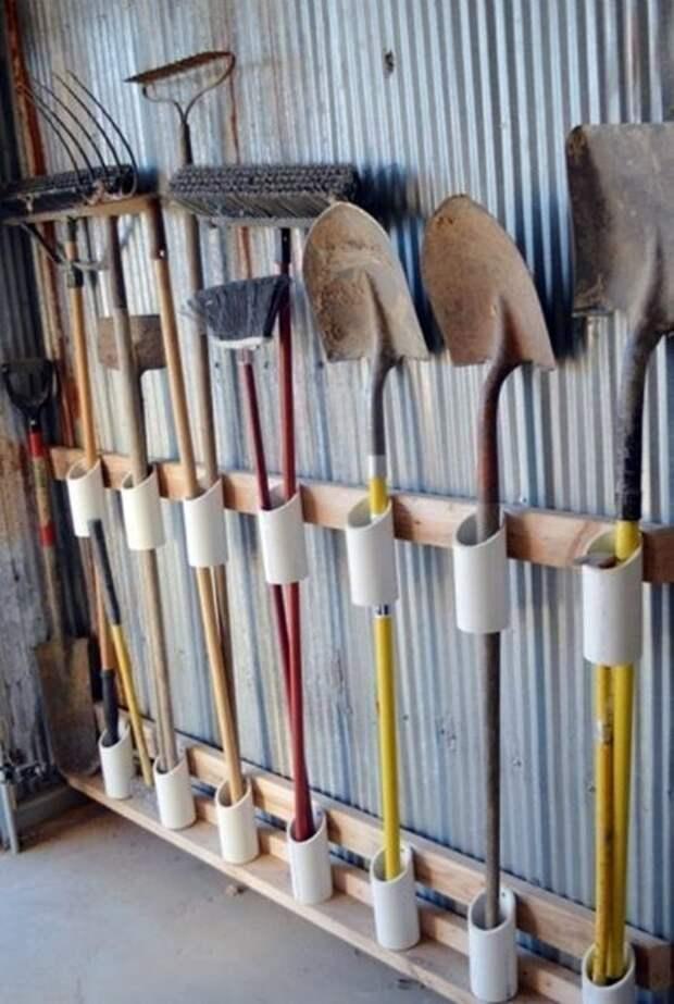 Трубы ПВХ на даче: подборка идей