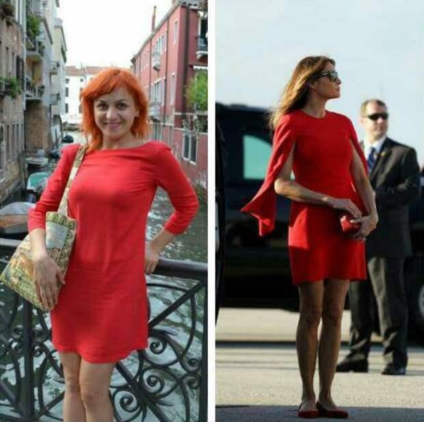Модный скандал: украинка обвинила Меланью Трамп в воровстве