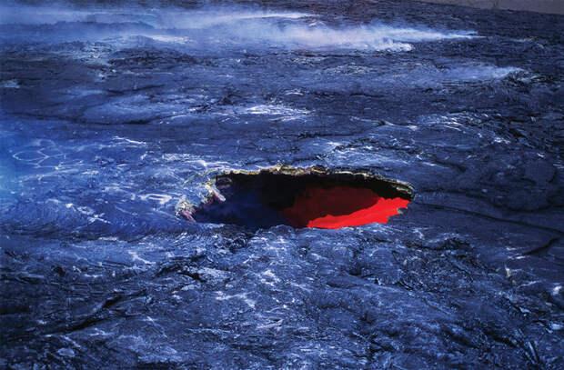 Под Россией обнаружили ускоряющуюся «реку» из раскаленного металла