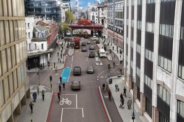 Садик Хан утвердил прокладку нового велосипедного супер-шоссе