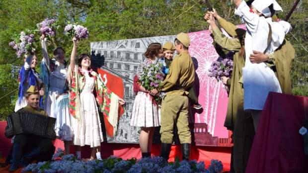 76 лет спустя: День Победы в Красногвардейском районе