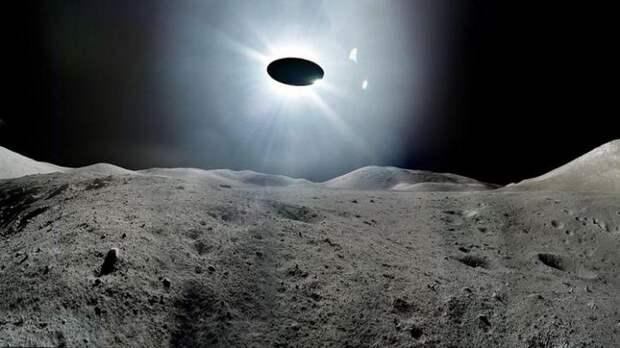 На Луне обнаружена очередная база инопланетян
