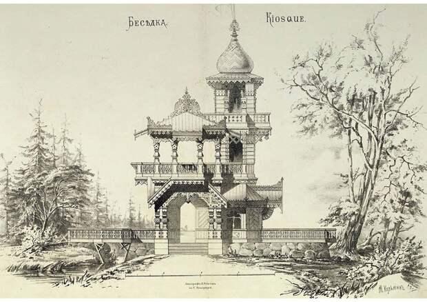 Деревянное зодчество Царской России