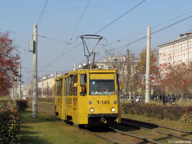 Движение трамваев в Ангарске возобновлено в штатном режиме