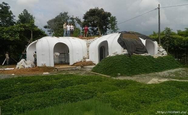 Домик, Хоббита, который можно построить за 3 дня дом, своими руками, сделай сам, факты