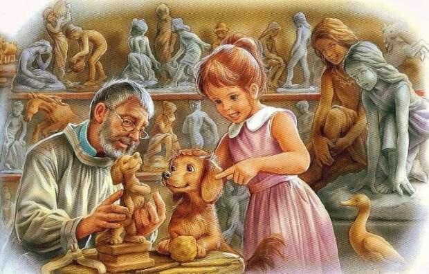 Художник Marcel Marlier (1930 – 2011). Приключения весёлой Маруси