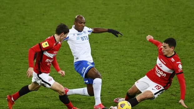 Агент сообщил, что футболист «Динамо» Каборе может перейти в клуб из Турции или ОАЭ