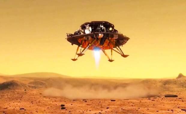 Китай совершил промежуточную посадку на Марсе, а Россия погреется в лучах чужой славы