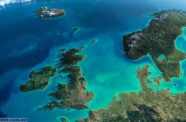 Когда Нибиру сделала Англию островом?