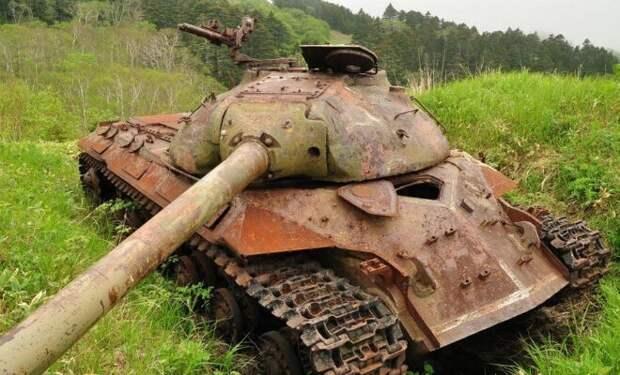 На Шикотане танки грохотали