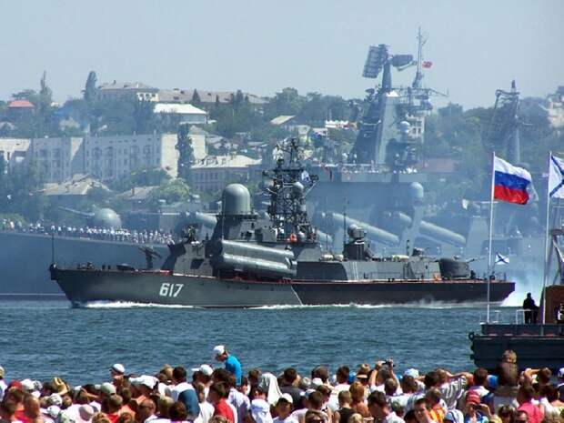 На день ВМФ в Севастополе зрители впервые увидят всю мощь Черноморского флота