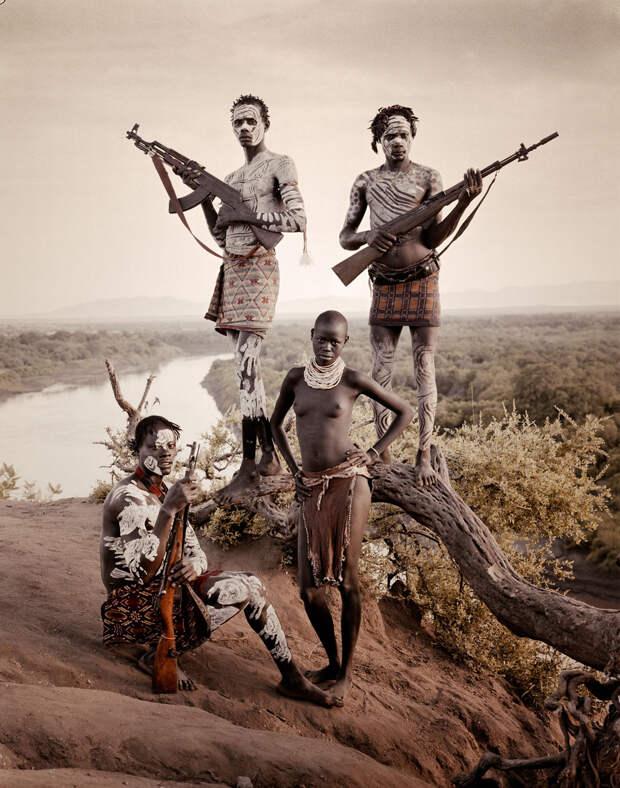 Джимми Нельсон. Проект «Пока они не исчезли». Эфиопия. Народность Кара