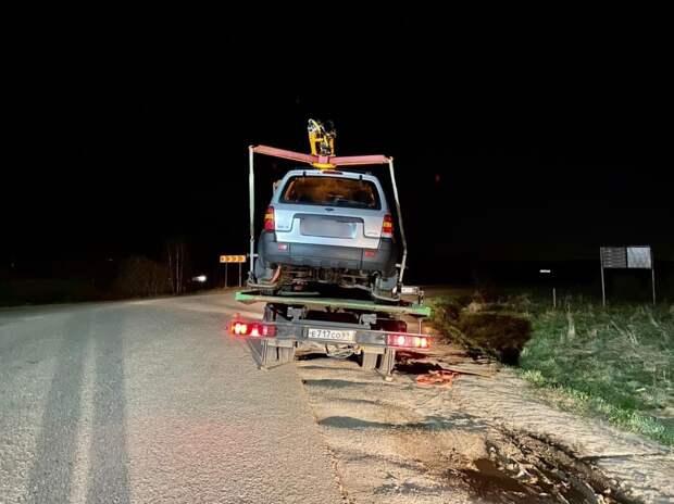 Житель Калининского района решил прокатиться по деревне в нетрезвом состоянии