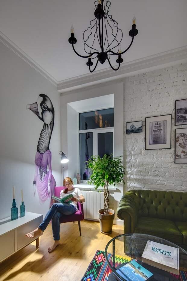 Квартира в Киеве от дизайнера Майи Баклан