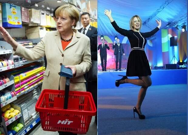 Как живут женщины-политики в ЕС и у нас — богатая Европа и бедная Россия?