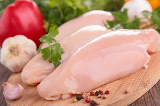 Диетический шашлык из курицы в духовке