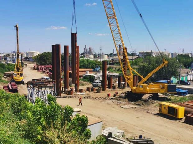 На Кубани почти завершили первый этап строительства нового Яблоновского моста