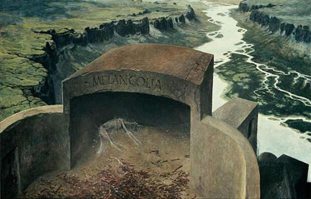 Леденящие душу картины гения сюрреализма и антиутопии, наполненные страхами и трагедиями: Здзислав Бексиньский