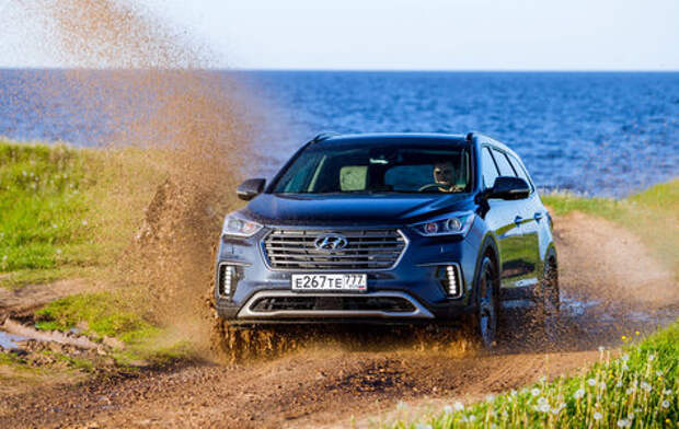 Обновленный Hyundai Grand Santa Fe: назвался грандом