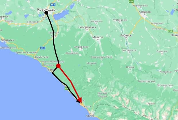 Путин согласился убрать железную дорогу с пляжей Сочи. Где теперь она пройдет?