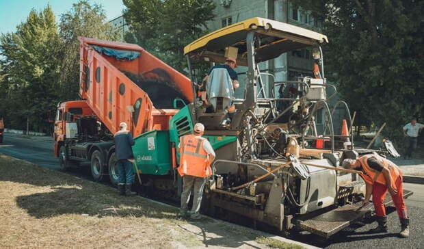 В Оренбурге начали строить дорогу на улице Рокоссовского