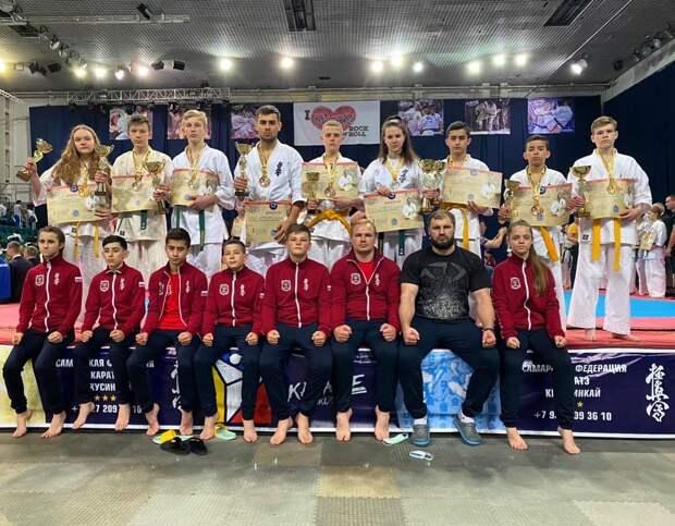 Тамбовчане установили рекорд по количеству наград на всероссийском турнире по киокусинкай