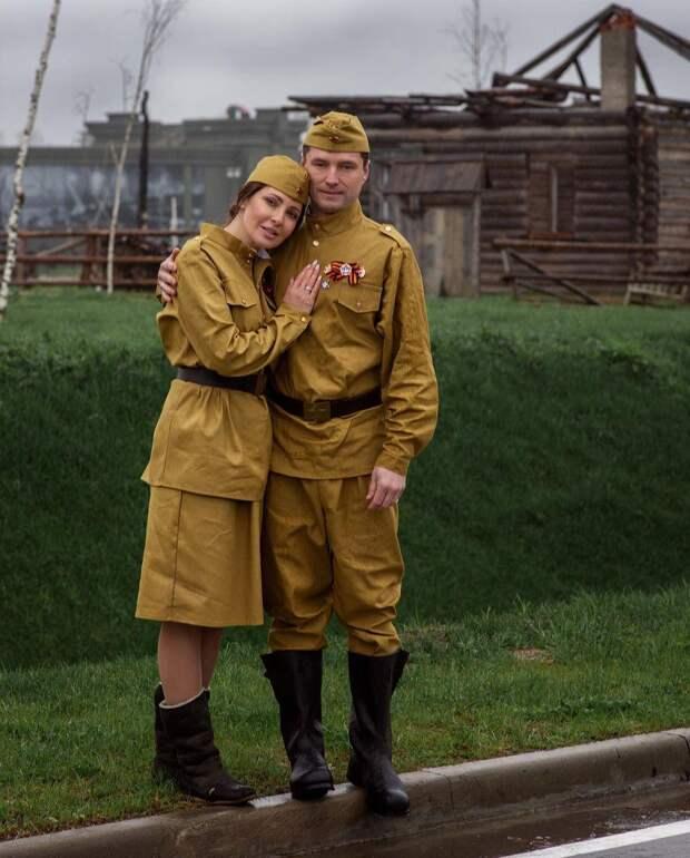 Это неуместно! Поклонники осудили Анастасию Макееву за фотосессию в военной форме
