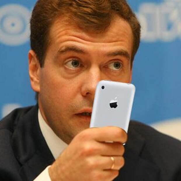 Путин и Медведев как рекламные агенты зарубежных брэндов
