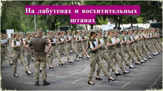 Репетиция парада в Киеве. Танк обклеенный малярным скотчем и боевые роботы на прицепе