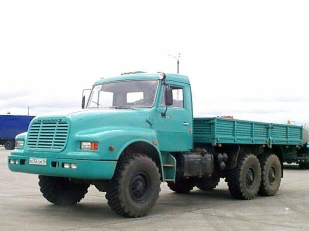 Капотный КАМАЗ-4355 — наверняка, вы о таком даже не слышали