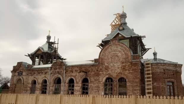 Единственный в мире храм святой Аллы восстанавливают в Пензенской области