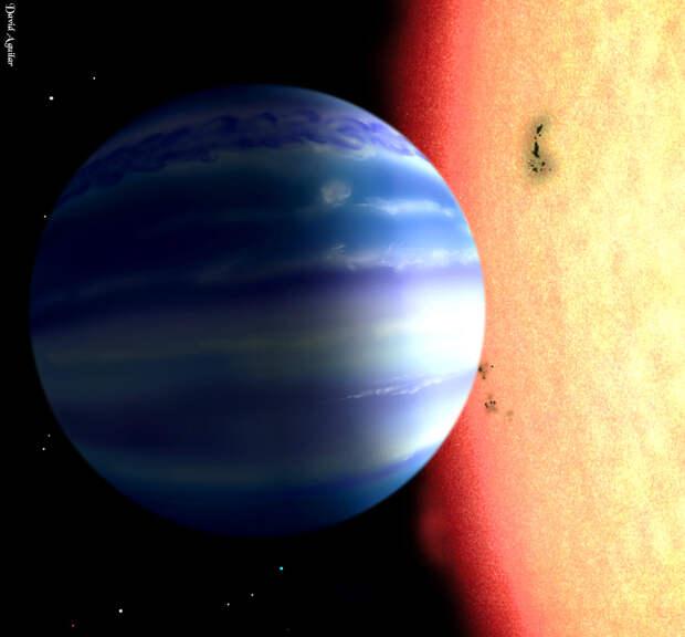 На экзопланете нашли молекулу, встречавшуюся только на Земле