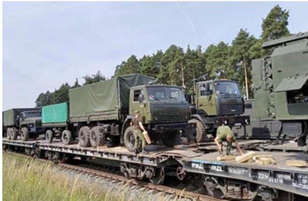 В России испытали поезда для спецопераций